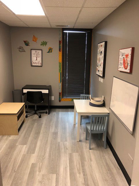 The office of the Therapy Center Orland Park